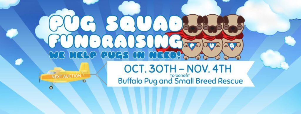 Pug Squad Auction for BPSBR