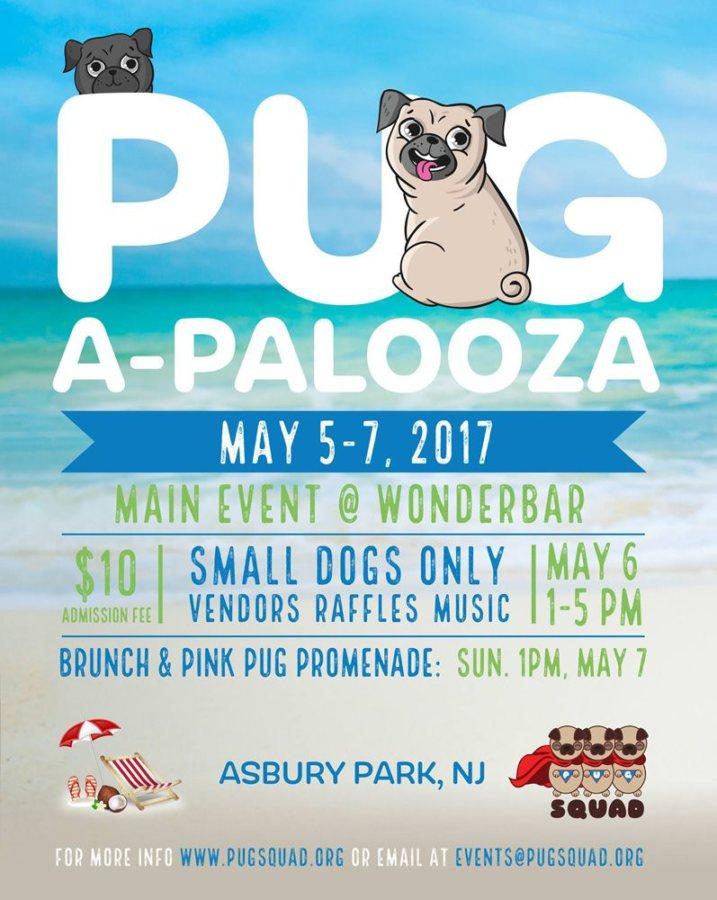Pugapalooza 2017 Asbury Park, NJ
