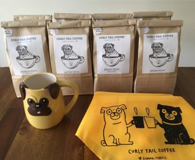 Howliday Shopping: Curly Tail Coffee