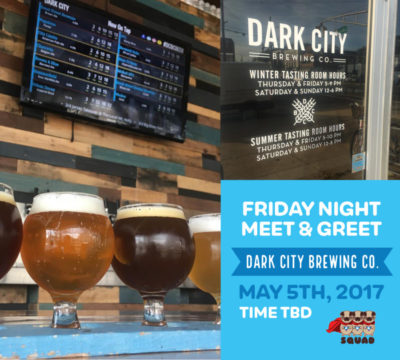 Friday Night: Dark City Brewing Company