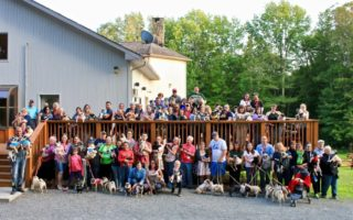 Pug Camp Group Photo