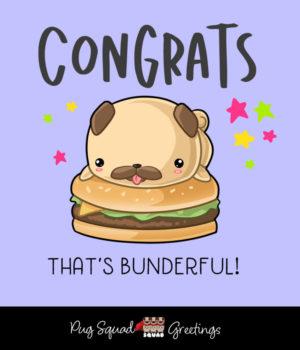 Pug Squad Congratulations
