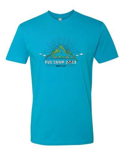 Pug Camp 2018 T-shirt